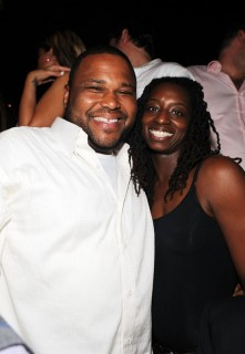 Anthony Anderson & guest // Manny Pacquiano vs. Ricky Hatton boxing match after party at TAO in Vegas