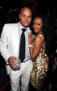 Stephen Belafonte & Mel B // Manny Pacquiano vs. Ricky Hatton boxing match after party at TAO in Vegas