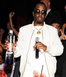 Diddy // Manny Pacquiano vs. Ricky Hatton boxing match after party at TAO in Vegas