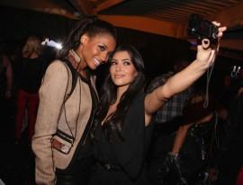 "Ciara & Kim Kardashian // \""Done Different\"" launch for Hennessy Black"