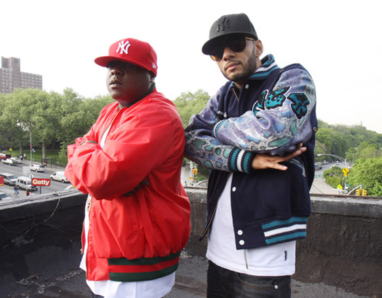 Jadakiss & Swizz Beatz // Who's Real music video shoot in NY