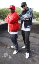 Jadakiss & Swizz Beatz // Who\'s Real music video shoot in NY