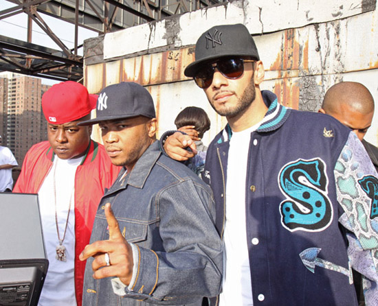 Jadakiss, Styles P & Swizz Beatz // Who\'s Real music video shoot in NY
