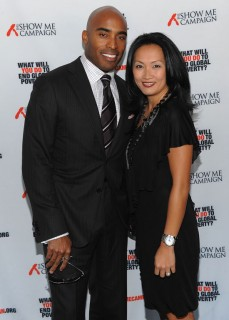 Tiki Barber & his wife Ginny // Show Me Campaign Benefit