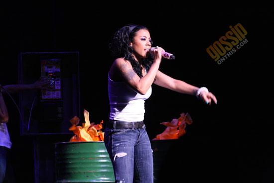 "Keyshia Cole // ""A Different Me Tour"" concert in Atlanta"