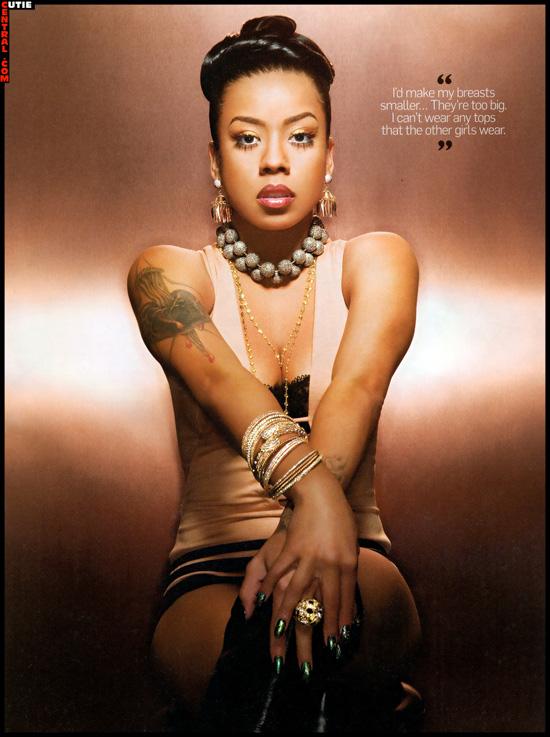 Keyshia Cole May 2009 King Magazine