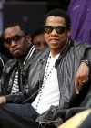 Diddy & Jay-Z at Lakers/Rockets game (May 4th 2009)