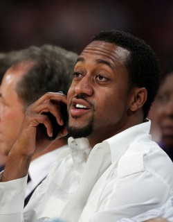 Jaleel White at Lakers/Rockets game (May 4th 2009)
