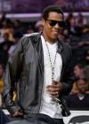 Jay-Z at Lakers/Rockets game (May 4th 2009)