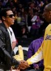Jay-Z and Kobe Bryant at Lakers/Rockets game (May 4th 2009)