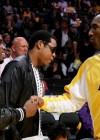 Diddy, Jay-Z and Kobe Bryant at Lakers/Rockets game (May 4th 2009)