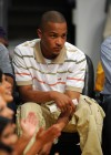 T.I. at the Lakers/Nuggets NBA Playoff Game (May 19th 2009)