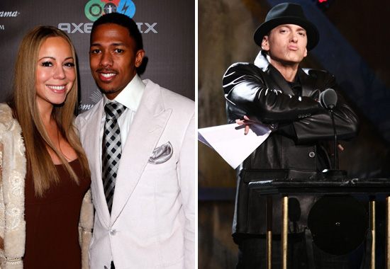 Mariah Carey & Nick Cannon // Eminem