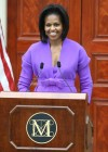 First Lady Michelle Obama // Metropolitan Museum of Art Ribbon Cutting Ceremony