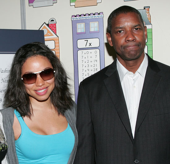 Jurnee Smollett & Denzel Washington // 6th Annual Washington Family Gifted Scholars Awards