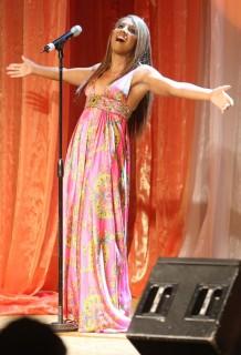 Toni Braxton // 9th annual Lupus LA Orange Ball