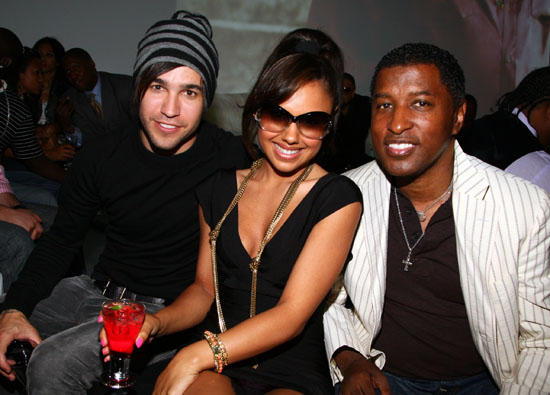 Pete Wentz, Kristina DeBarge & Babyface // Def Jam 2009 Spring Collection Party