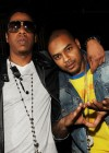 Jay-Z & Larry Johnson // Jay-Z's Pre-Fight Party at LAVO