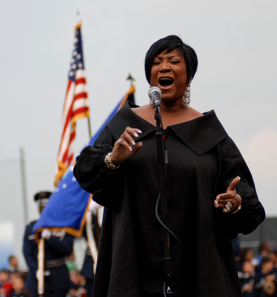 Patti Labelle // Opening Weekend for the Newark Bears