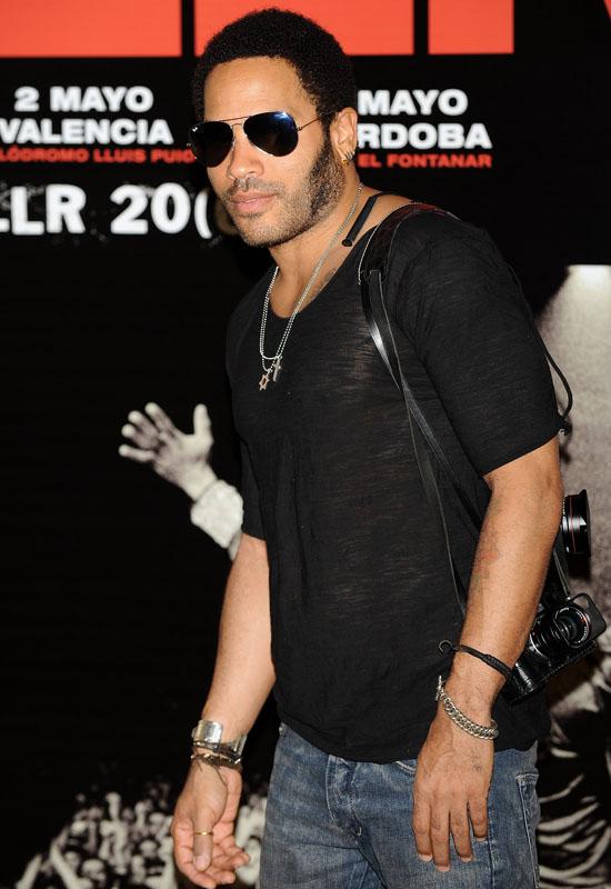 Lenny Kravitz // Press & Media Conference for Europen Tour