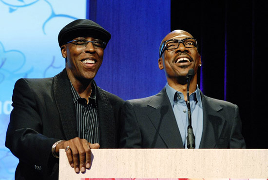 """Arsenio Hall & Eddie Murphy // JDRF's Annual """"Finding A Cure: A Love Story"""" Gala"""