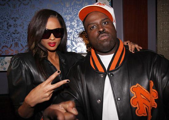 Ciara & Funkmaster Flex // grand opening of Next Level at Prime