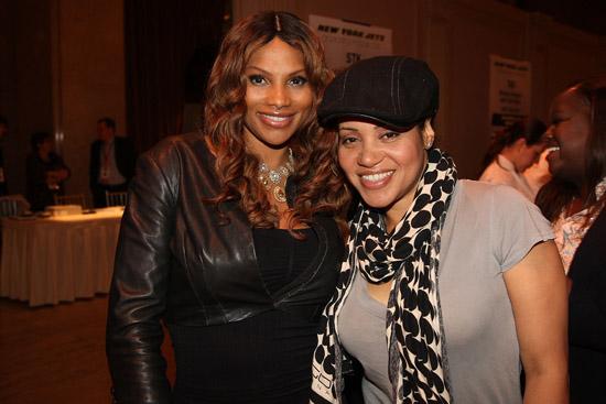 Salt N Pepa (L: Sandra & R: Cheryl) // 7th Annual Taste of NFL at Cipriani, Wall Street