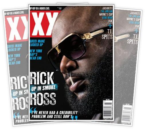 Rick Ross May 2009 XXL Magazine