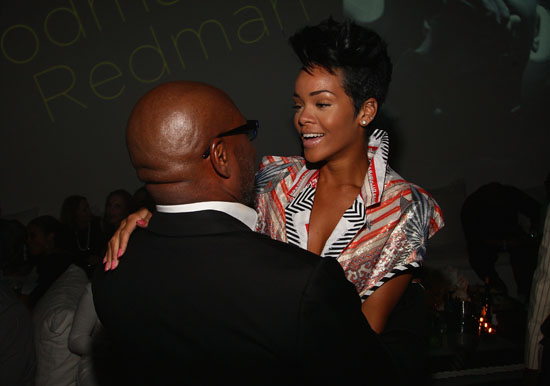 Rihanna & L.A. Reid // Def Jam 2009 Spring Collection Party