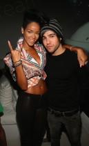 Rihanna & Pete Wentz // Def Jam 2009 Spring Collection Party