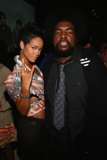 Rihanna & Questlove // Def Jam 2009 Spring Collection Party