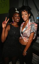 Def Jam new artist Shangai & Rihanna // Def Jam 2009 Spring Collection Party