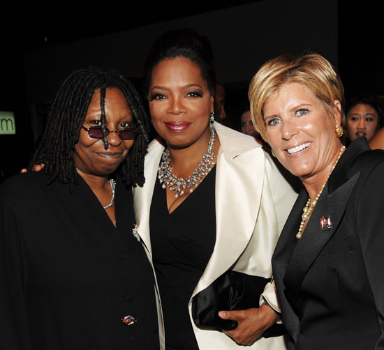 Whoopi Goldberg, Oprah & Suze Orman // 2009 Time 100 Most Influential People in the World Gala