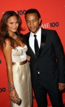 John Legend & his girlfriend Christine Teigen // 2009 Time 100 Most Influential People in the World Gala