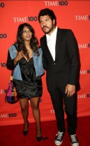 M.I.A. and her husband Ben Brewer // 2009 Time 100 Most Influential People in the World Gala