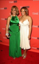 Gayle King & her daughter Kirby // 2009 Time 100 Most Influential People in the World Gala