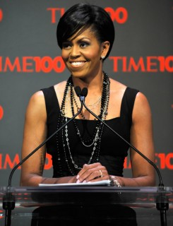 Michelle Obama // 2009 Time 100 Most Influential People in the World Gala