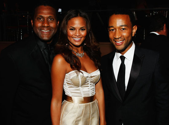 Tavis Smiley, Christine Teigen & John Legend // 2009 Time 100 Most Influential People in the World Gala