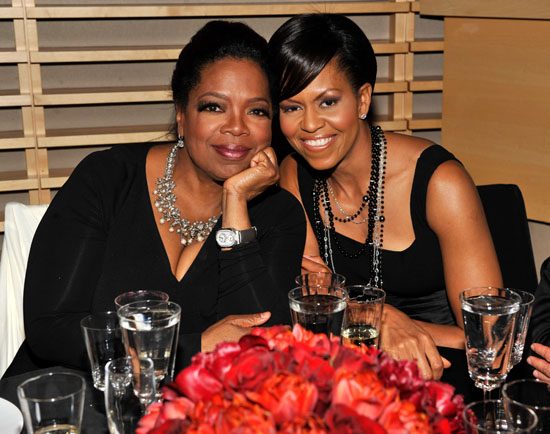 Oprah Winfrey & First Lady Michelle Obama // 2009 Time 100 Most Influential People in the World Gala