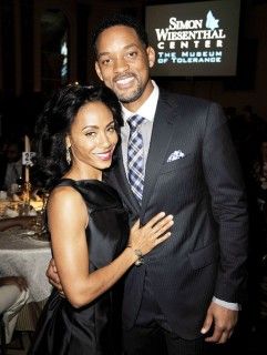 Jada Pinkett-Smith and Will Smith // Simon Wisenthal Center's Annual National Tribute Dinner
