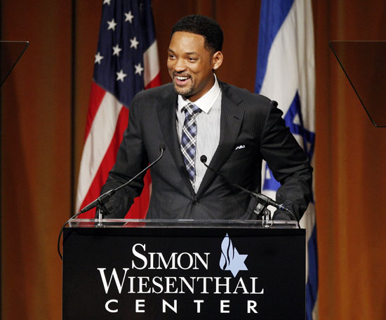 Will Smith // Simon Wisenthal Center's Annual National Tribute Dinner