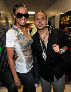 Ciara & Sean Paul // Z100\'s Zootopia 2009 Concert (backstage)