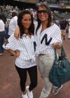 Adrienne Bailon & Hot 97's Angie Martinez // 2009 Atlantic League All-Star Game and the Hot 97 vs. KISS-FM Celebrity Softball Showdown
