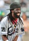 Gospel singer Tye Tribbett // 2009 Atlantic League All-Star Game and the Hot 97 vs. KISS-FM Celebrity Softball Showdown