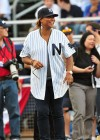 Queen Latifah // 2009 Atlantic League All-Star Game and the Hot 97 vs. KISS-FM Celebrity Softball Showdown