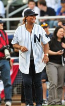Queen Latifah // 2009 Atlantic League All-Star Game and the Hot 97 vs. KISS-FM Celebrity Softball Showdown