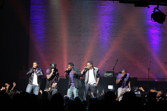 Day 26 in concert at The Apollo Theater in NYC