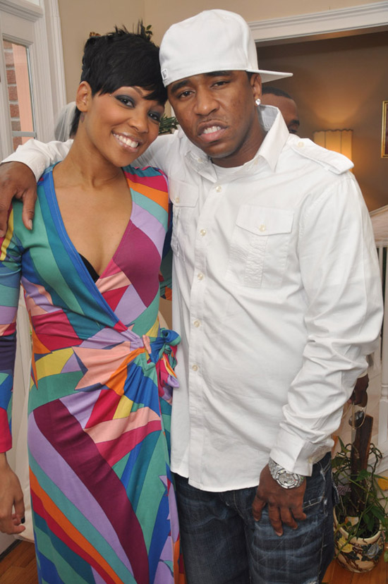 Monica & Rocko Attend Wedding in Atlanta