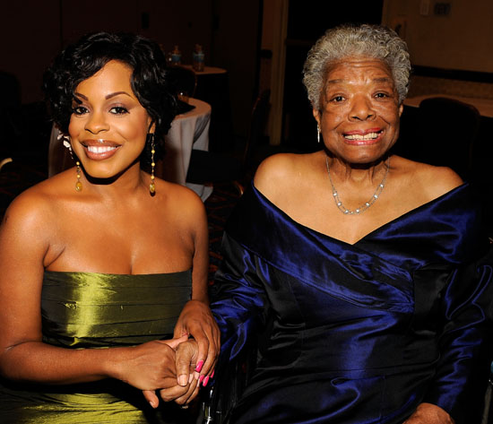 Niecy Nash & Maya Angelou // 2009 AWRT Gracie Awards