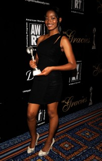 Keke Palmer // 2009 AWRT Gracie Awards